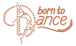 Preview: strass-motiv-born-to-dance-orange