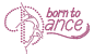 Preview: strass-motiv-born-to-dance-pink