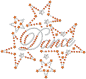 Preview: strass-motiv-dance-stars-orange