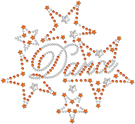 strass-motiv-dance-stars-orange